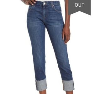 Joe's jeans the Smith mid rise skinny crop